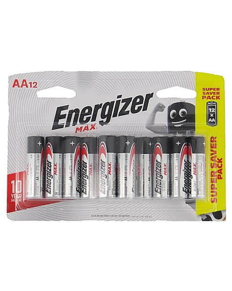 Energizer Max AA - 12 Pack Battery -  nocolour