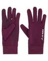K-Way Bolt Touch Glove -  plum