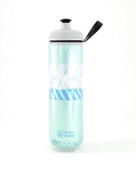 Polar Tempo 700ml Insulated Sport Water Bottle -  white