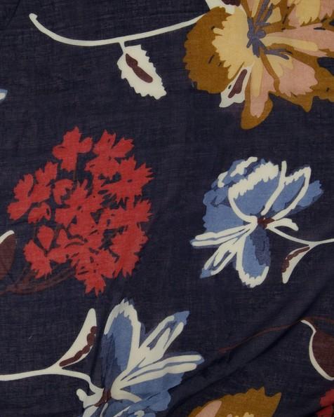Old Khaki Women's Cassie Floral Scarf -  navy