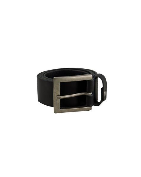 Old Khaki Matthias Stud Detail Belt -  black