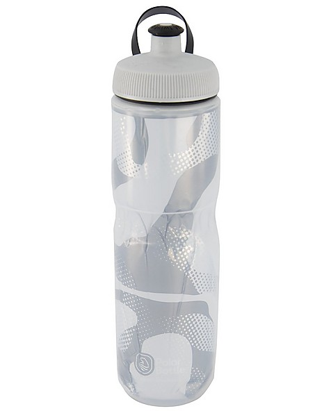 Polar Contender 24oz Insulated Sport Waterbottle -  white
