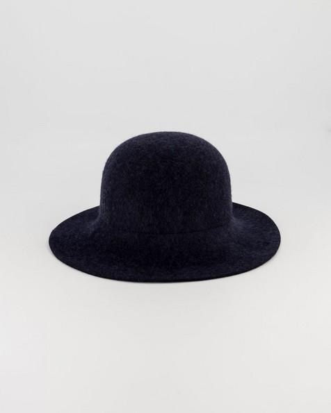 Rare Earth Flia Felt Bucket Hat -  navy