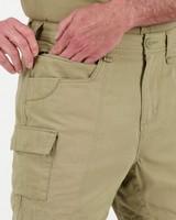 K-Way Elements Men's Safari Short Shorts -  khaki
