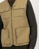 K-Way Elements Utility Vest (Mens) -  khaki