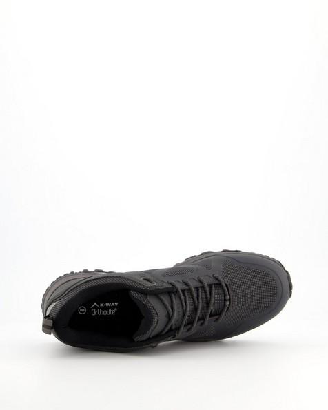 K-Way Men's Edge Waterproof Shoe -  charcoal
