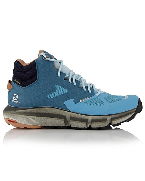 Salomon Women's Predict Hike Mid GORE-TEX Hiking Boot -  orange