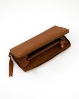 Old Khaki Women's Keira Leather Wallet -  tan-tan