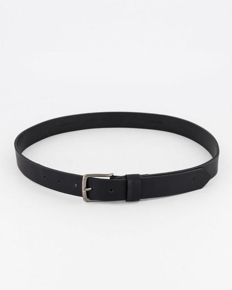 Old Khaki Women's Kodiak Leather Belt -  black