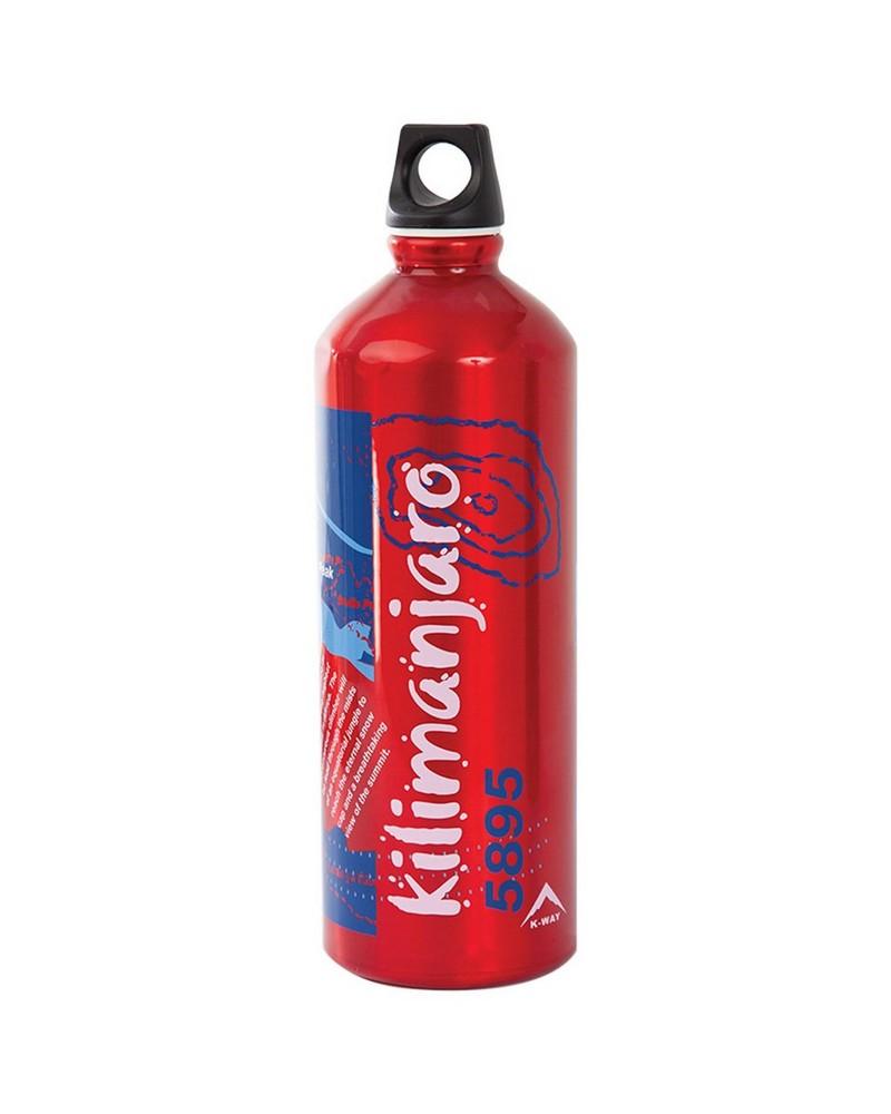 Laken Kilimanjaro Bottle 1L Futura -  red