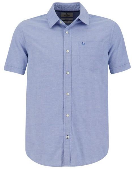 Old Khaki Men's Wyatt S-S Regular Fit Shirt -  blue
