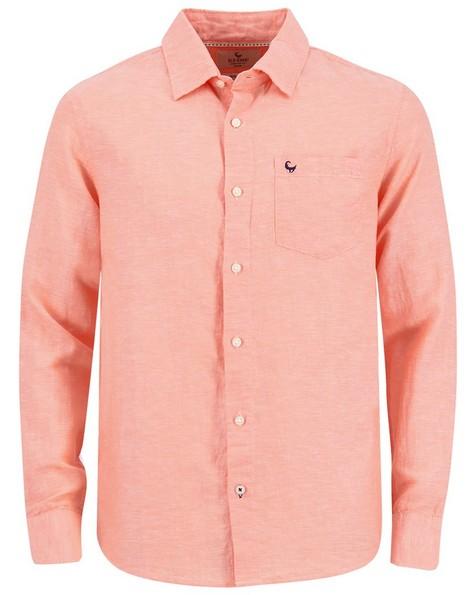 Old Khaki Men's Lane Regular Shirt -  orange