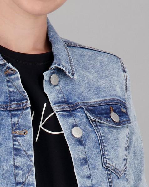 Old Khaki Women's Amber Denim Jacket -  blue