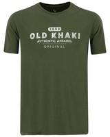 Old Khaki Men's Ben Relaxed Tee -  olive