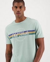 Old Khaki Men's Oliver Relaxed Fit Tee -  sage
