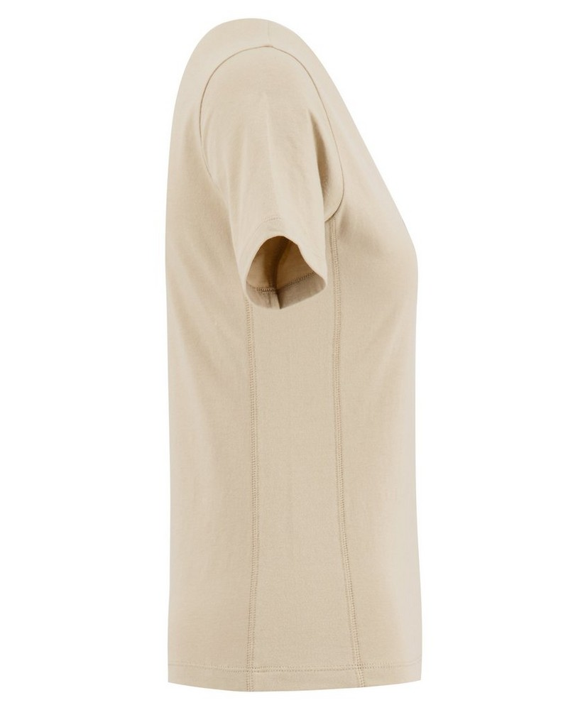 FILA Women's Cream Cedar Short Sleeve T-Shirt -  cream
