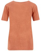 Old Khaki Women's Quin Call-Out Tee -  rust