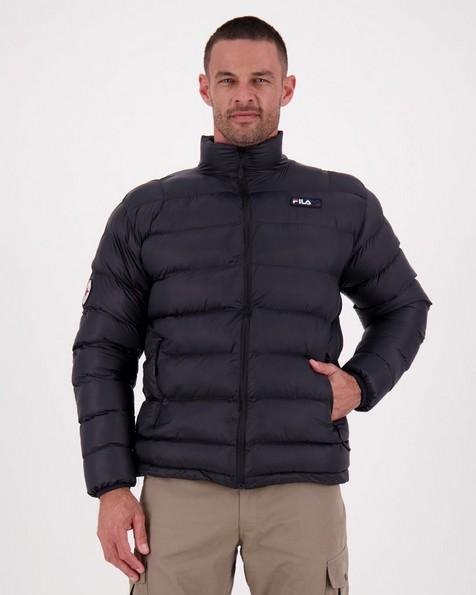 FILA Men's Tian Down Puffer Jacket -  black