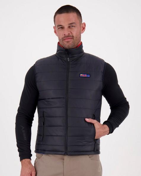 FILA Men's Karakoram Reversible Vest -  black