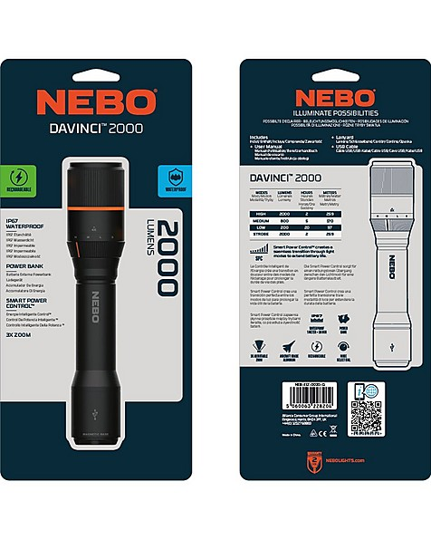 Nebo DAVINCI 2000 -  black