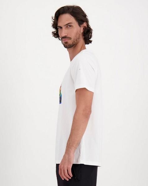 FILA Men's White Tide T-Shirt -  white