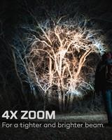 Nebo Davinci™ 1 000 Lumen Rechargeable Handheld Flashlight -  black