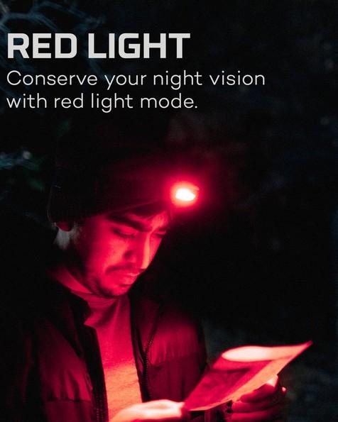 Nebo Einstein™ 400 Lumen Rechargeable Headlamp -  black