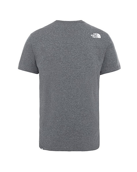 The North Face Men's 'Never Stop Exploring' T-Shirt -  grey