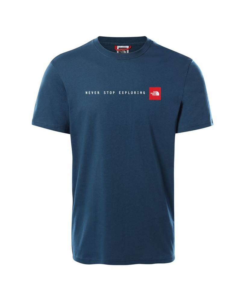 The North Face Men's 'Never Stop Exploring' T-Shirt -  blue