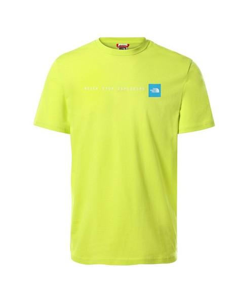 The North Face Men's 'Never Stop Exploring' T-Shirt -  green