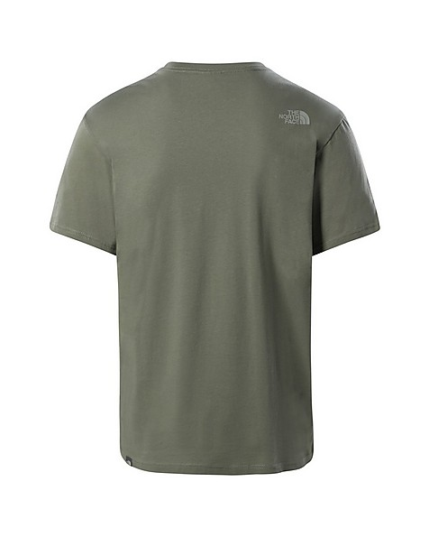 The North Face Men's 'Walls are Meant for Climbing' T-Shirt -  green