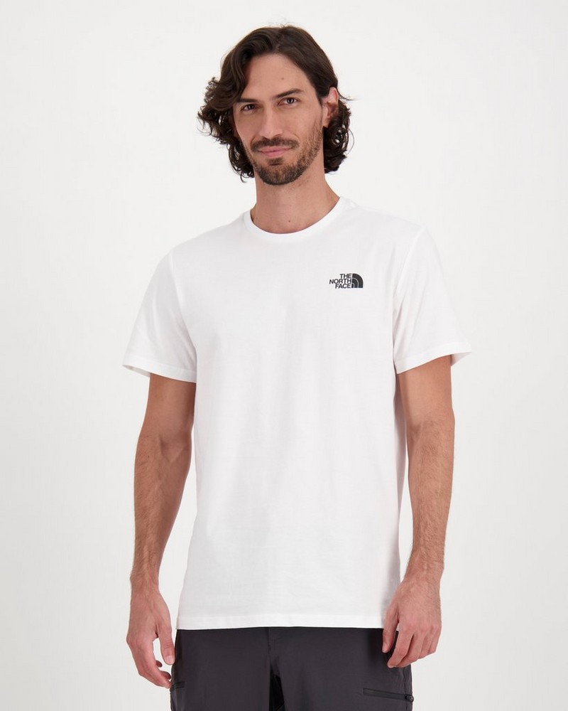 The North Face Men's Redbox T-Shirt -  white