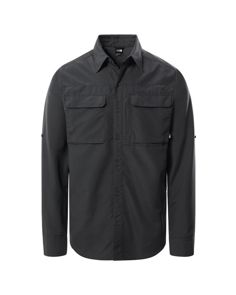 The North Face Men's Sequoia Long-Sleeve Shirt -  grey