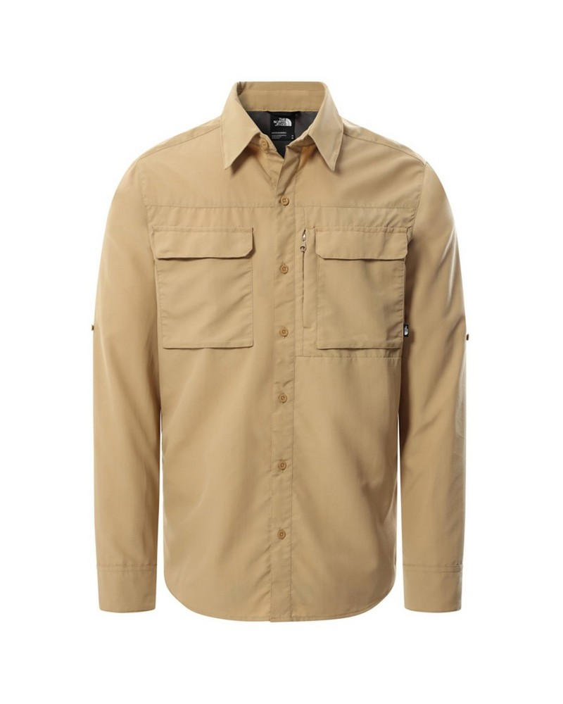 The North Face Men's Sequoia Long-Sleeve Shirt -  khaki