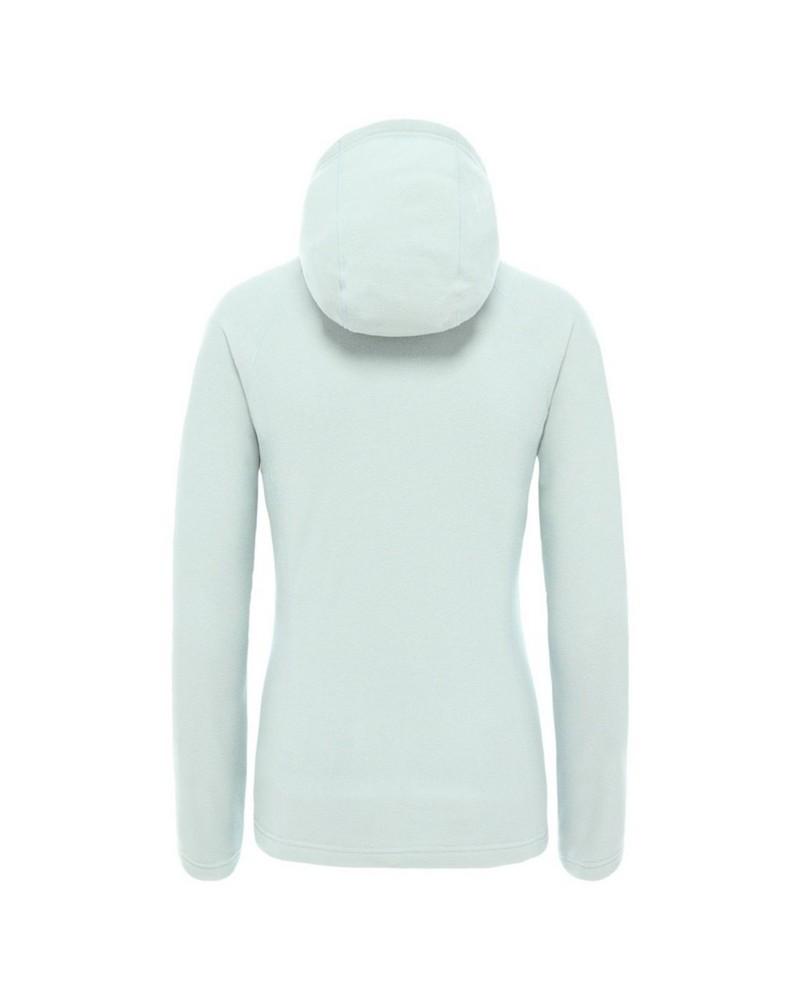 The North Face Women's Mezzaluna Full Zip Hoodie -  blue