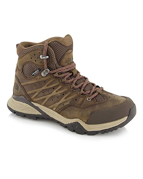 The North Face Women's Hedgehog Hike II Mid WP Boots -  brown