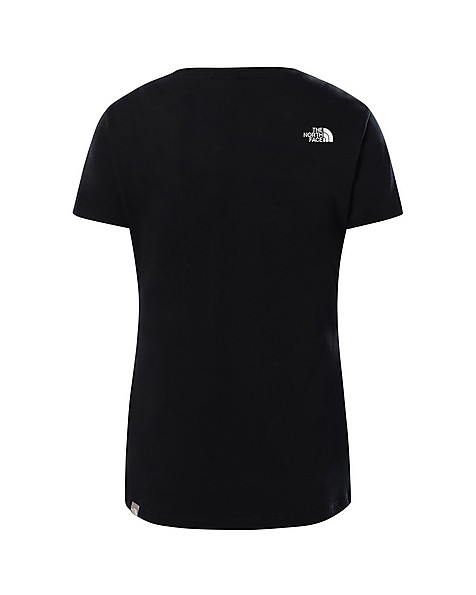 The North Face Women's Simple Dome T-Shirt -  black