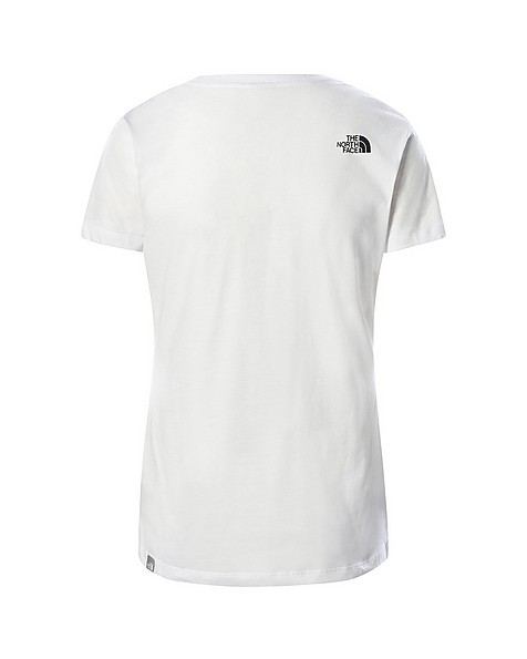 The North Face Women's Simple Dome T-Shirt -  white