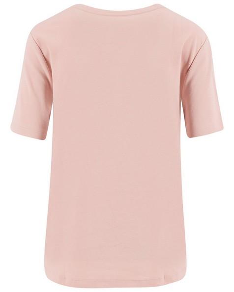 Rare Earth Bisa Basic Tee -  pink