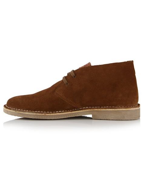 K-Way Men's Elements Charlie Vellie Boot -  brown