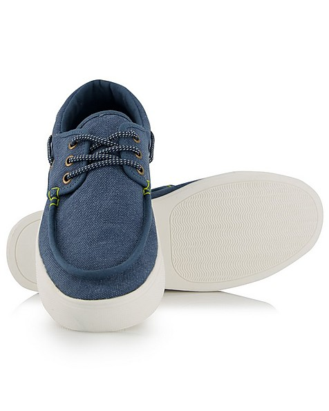 Cape Union Bermuda Boat Shoe -  blue