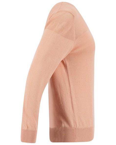 Rare Earth Laila Stitch Interest Jumper -  pink