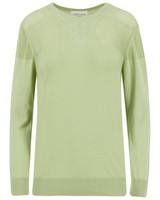Rare Earth Laila Stitch Interest Jumper -  green