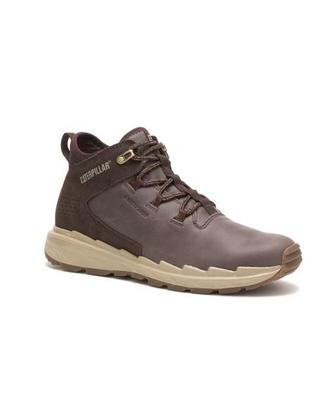 Caterpillar Men's Stratify Waterproof Sneaker  -  brown