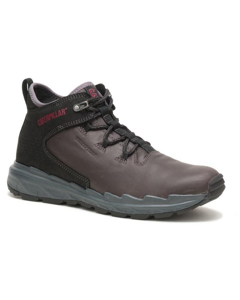 Caterpillar Men's Stratify Waterproof Sneaker  -  chocolate