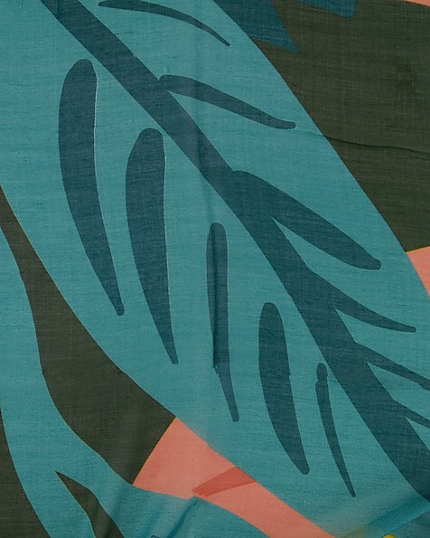 Old Khaki Women's Riya Tropical Print Scarf -  assorted