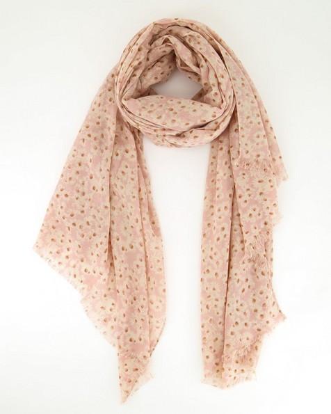 Old Khaki Women's Reese Ditsy Daisy Print Scarf -  pink