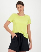Rare Earth Alexa Knit Top -  yellow