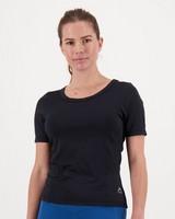 K-Way Pulse Women's Tech Short-Sleeve Tee  -  black