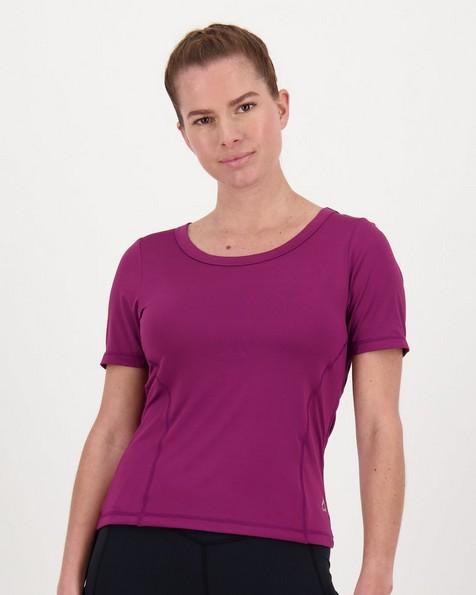 K-Way Pulse Women's Tech Short-Sleeve Tee  -  grape